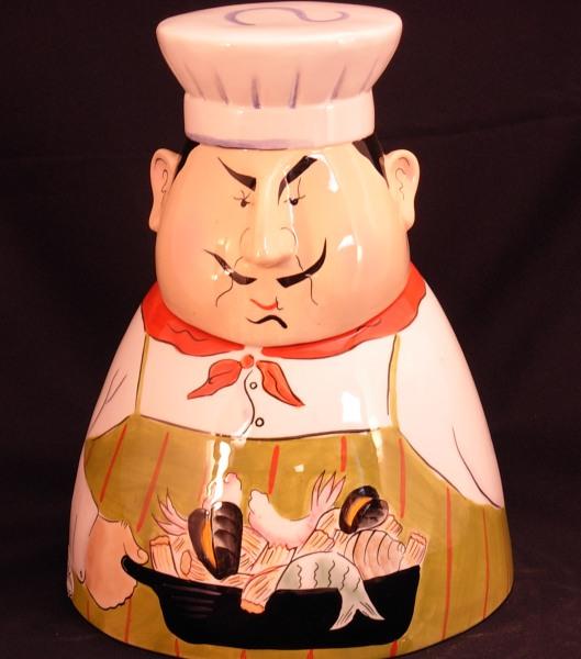 Clay Art Cookie Jars Cookie Jar Clay Art® Chef