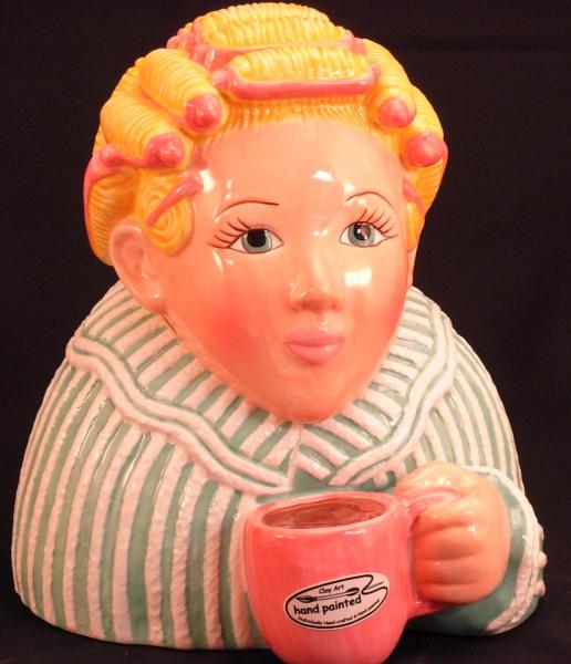 Clay Art Cookie Jars Cookie Jar Clay Art® Morning